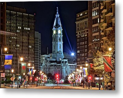 Colorful Downtown Philly 2016 Metal Print