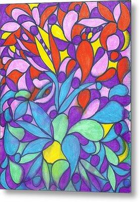 Colorful Dream I Metal Print