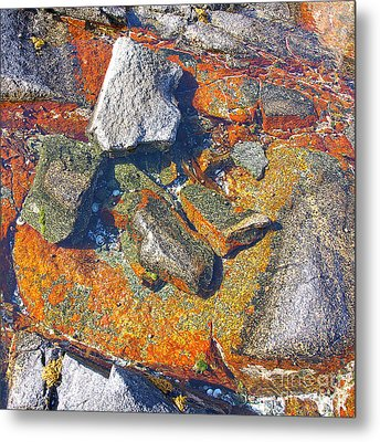 Colorful Earth History Metal Print by Heiko Koehrer-Wagner