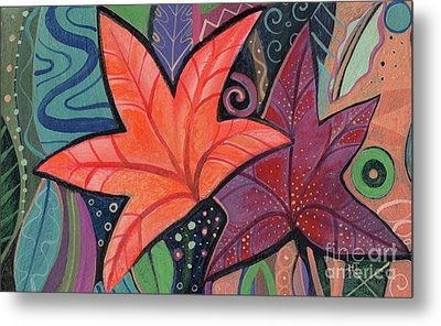 Colorful Fall Metal Print