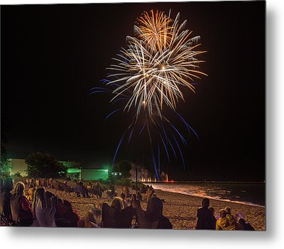 Metal Print featuring the photograph Colorful Kewaunee, Fourth by Bill Pevlor