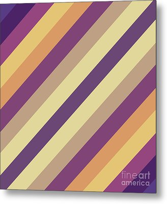 Colorful Lines Metal Print by Amir Faysal