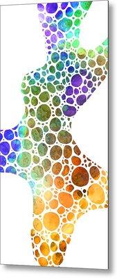 Colorful Modern Art - Colorforms 8 - Sharon Cummings Metal Print by Sharon Cummings