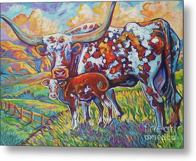 Colorful Momma Metal Print