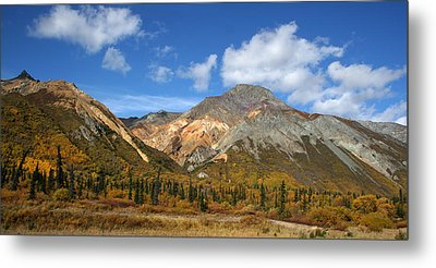 Colorful Mountains Metal Print by Dave Clark
