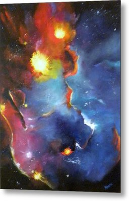 Colorful Nebula Metal Print