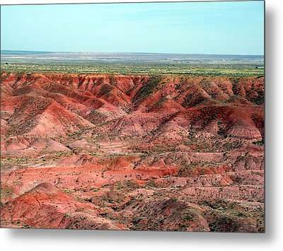 Metal Print featuring the photograph Colorful Painted Desert by Jeanette Oberholtzer