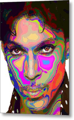 Colorful Prince Metal Print