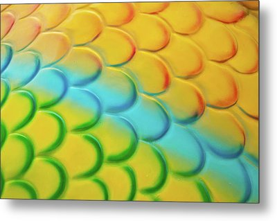 Colorful Scales Metal Print by Adam Romanowicz
