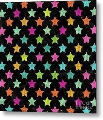 Colorful Star II Metal Print