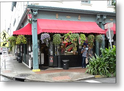Colorful Store Metal Print by Kim Zwick