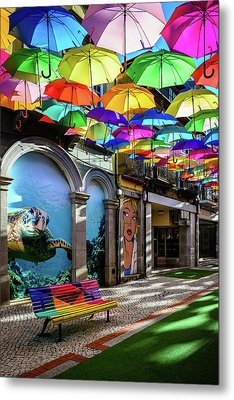 Colorful Street II Metal Print by Marco Oliveira