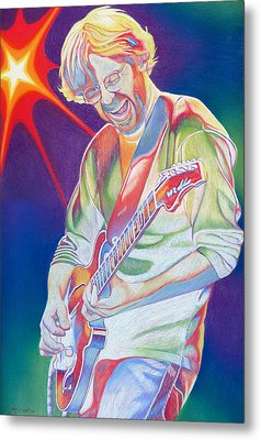 Colorful Trey Anastasio Metal Print