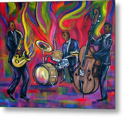 Colorful Trio Metal Print by Pete Maier