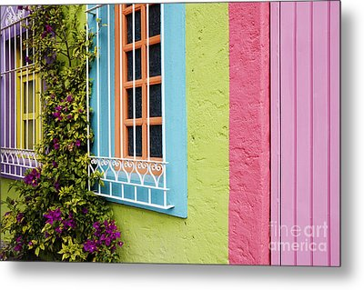 Colorful Walls Metal Print by Jeremy Woodhouse