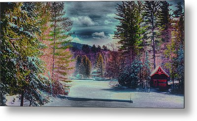 Metal Print featuring the photograph Colorful Winter Wonderland by David Patterson
