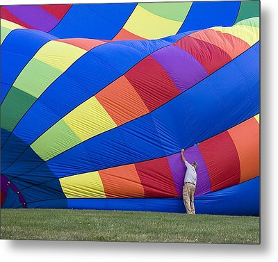 Metal Print featuring the photograph Colors by Alan Raasch