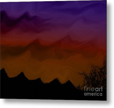 Colors At Dusk Metal Print