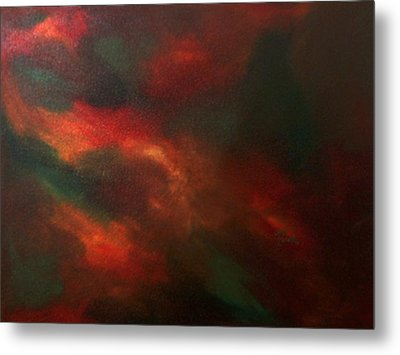 Colors In Mind Metal Print by Guillermo Mason