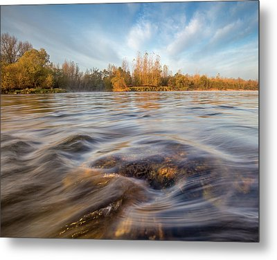 Metal Print featuring the photograph Colors Of Autumn by Davorin Mance