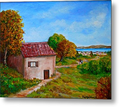 Colors Of Autumn1 Metal Print by Constantinos Charalampopoulos