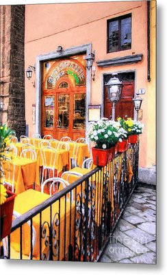 Colors Of Italy # 5 Metal Print by Mel Steinhauer
