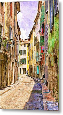Colors Of Provence, France Metal Print