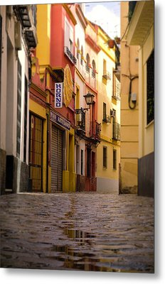 Colors Of Seville Metal Print by Andrea Mazzocchetti