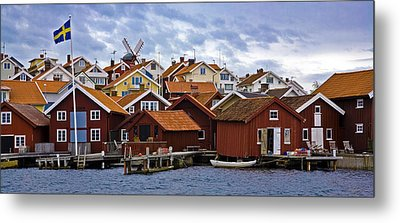 Colors Of Sweden Metal Print by Frank Tschakert