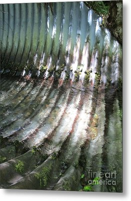 Metal Print featuring the photograph Colors Of The Culvert by Marie Neder