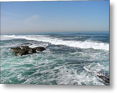 Metal Print featuring the photograph Colors Of The Sea by Carol  Bradley