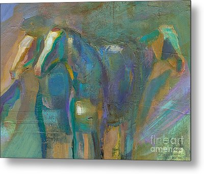 Colors Of The Southwest Metal Print by Frances Marino