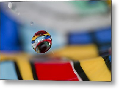 Colors Of The World Metal Print by Rebecca Cozart