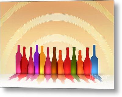 Colors Of Wine Metal Print by Bedros Awak