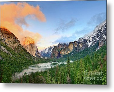 Colors Of Yosemite Metal Print