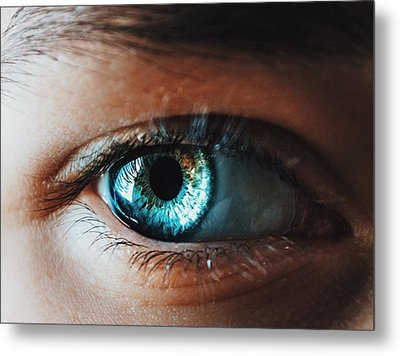 Metal Print featuring the photograph Colors by Parker Cunningham