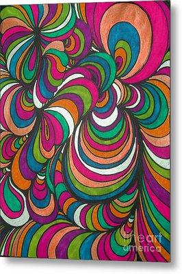 Colorway1 Metal Print by Ramneek Narang
