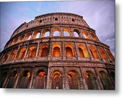 Colosseum - Coliseu Metal Print by Ruy Barbosa Pinto