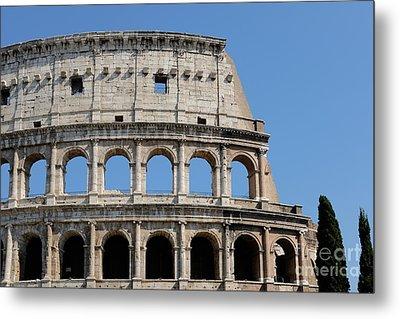 Colosseum Or Coliseum Metal Print by Edward Fielding