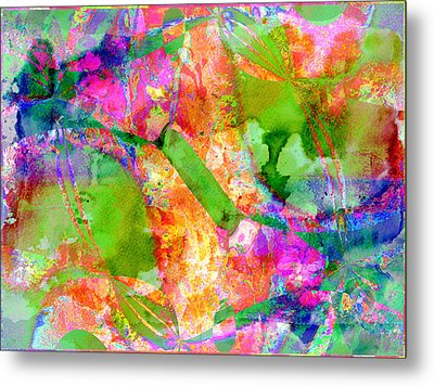 Colour Metal Print by Contemporary Art