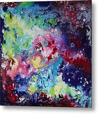 Colour Explosion Metal Print by Bitten Kari