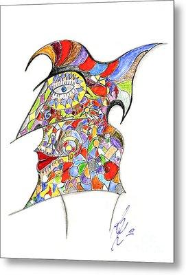 Colour In Mind Metal Print by Peter Saltz