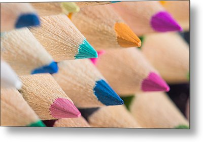 Colour Pencils 3 Metal Print