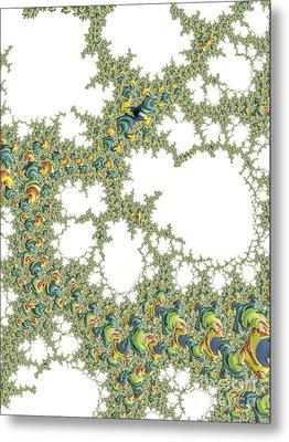 Coloured Winkles Metal Print by Elaine Teague