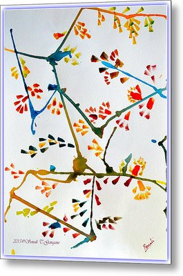Colourful Blossoms Metal Print by Sonali Gangane