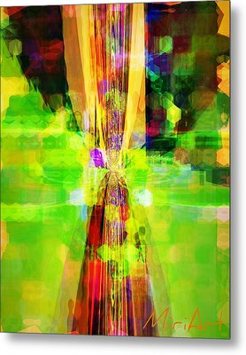 Metal Print featuring the photograph Colourful by Miriam Shaw