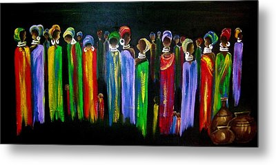 Colourful South Africa Metal Print by Marietjie Henning