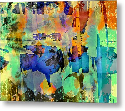 Colours Metal Print by Contemporary Art