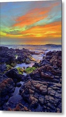 Colours Of Molokai Metal Print by Tara Turner
