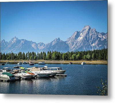 Colter Bay Metal Print by EG Kight